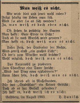 (L1) Ein Jahrhundert Poesie und Prosa der Familien Hille ...